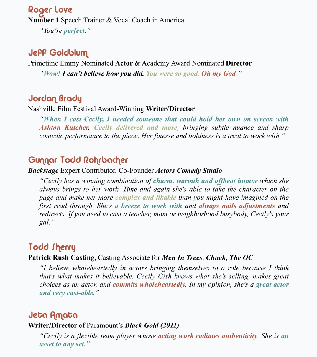 Web Quote Sheet 2018